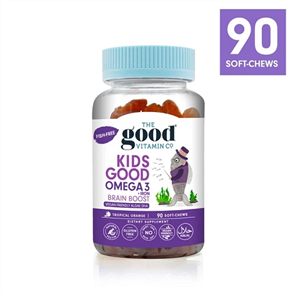 THE GOOD VITAMIN CO KIDS OMEGA 3 + IRON BRAIN BOOST