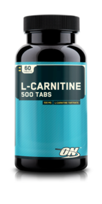 OPTIMUM NUTRITION L-CARNITINE 500 MG