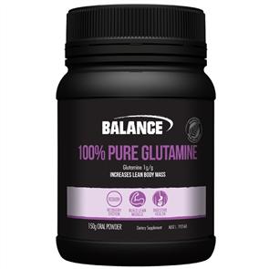 BALANCE 100% PURE L-GLUTAMINE