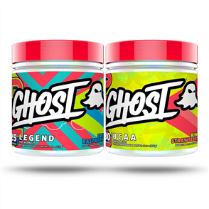 GHOST LIFESTYLE LEGEND V2 & BCAA COMBO