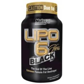NUTREX LIPO HERS BLACK