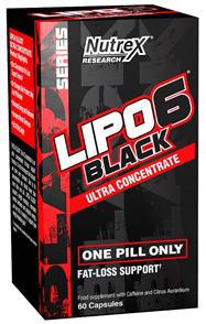 NUTREX LIPO-6 BLACK ULTRA CONCENTRATED
