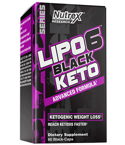 NUTREX LIPO 6 BLACK KETO ADVANCED FORMULA