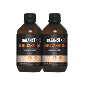 BALANCE DOUBLE LIQUID CARNITINE COMBO
