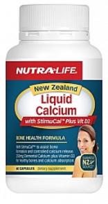 NUTRA-LIFE LIQUID CALCIUM PLUS VITAMIN D3