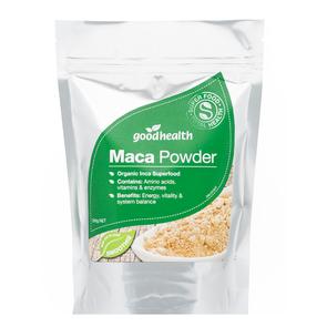 GOOD HEALTH MACA POWDER ORGANIC