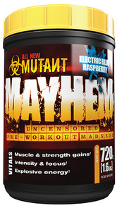 MUTANT MAYHEM PRE WORKOUT