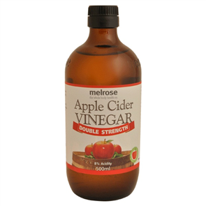 MELROSE APPLE CIDER VINEGAR DOUBLE STRENGTH