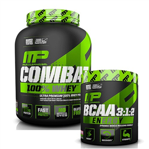 MUSCLEPHARM COMBAT 100% WHEY BCAA ENERGY COMBO