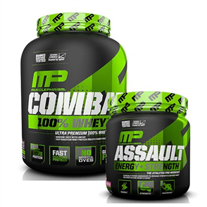 MUSCLEPHARM COMBAT 100% WHEY ASSAULT COMBO