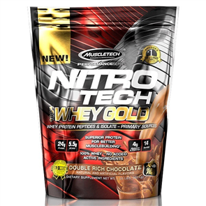 MUSCLETECH NITROTECH 100% WHEY GOLD