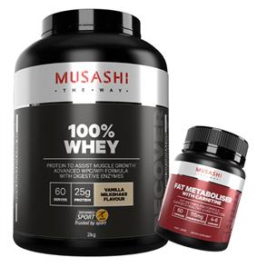 MUSASHI 100% WHEY