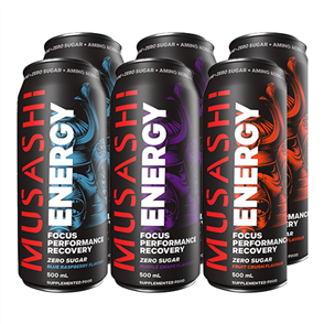 MUSASHI ENERGY CANS