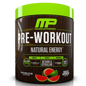 MUSCLEPHARM NATURAL PRE-WORKOUT