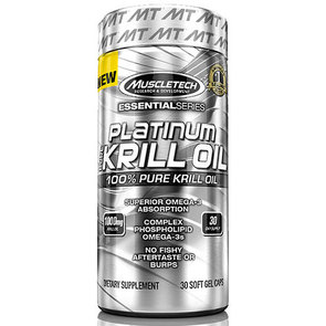 MUSCLETECH PURE KRILL OIL
