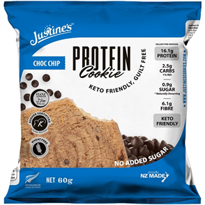 JUSTINES PROTEIN COOKIE NEW