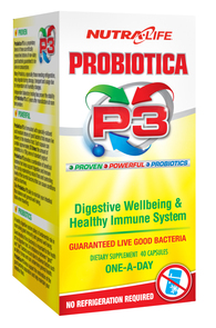 NUTRA-LIFE PROBIOTICA P3
