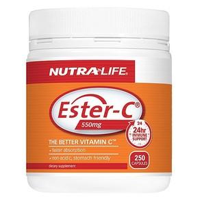 NUTRA-LIFE ESTER C 550MG