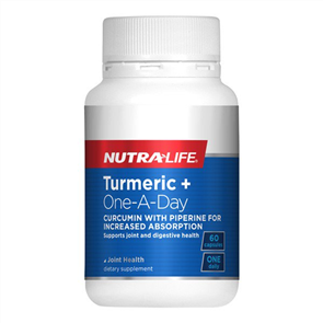 NUTRA-LIFE TURMERIC + ONE A DAY