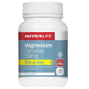 NUTRA-LIFE MAGNESIUM COMPLETE 550MG ONE A DAY