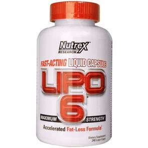 NUTREX LIPO-6 LIQUID CAPS