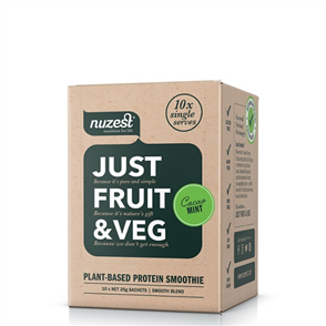 NUZEST JUST FRUIT & VEG SACHET BOX