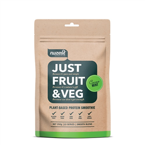 NUZEST JUST FRUIT & VEG POUCH