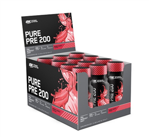 OPTIMUM NUTRITION PURE PRE 200 SHOT