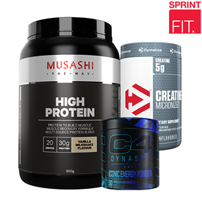 SPRINT FIT OCTOBER GAINS STACK OF THE MONTH