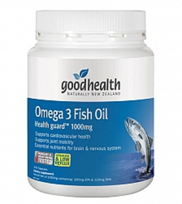 GOOD HEALTH OMEGA 3 1000MG FISH OIL