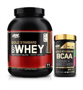 OPTIMUM NUTRITION GOLD STANDARD WHEY BCAA COMBO