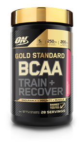 OPTIMUM NUTRITION GOLD STANDARD BCAA TRAIN & RECOVER