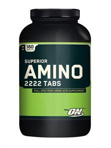 OPTIMUM NUTRITION SUPERIOR AMINO 2222 TABS