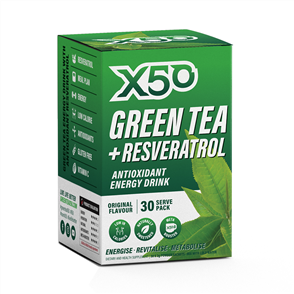 X50 GREEN TEA + RESVERATROL ORIGINAL