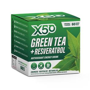 X50 GREEN TEA + RESVERATROL ORIGINAL