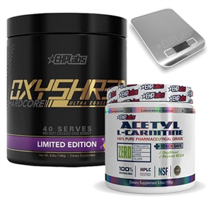 EHP LABS OXYSHRED HARDCORE & CARNITINE COMBO