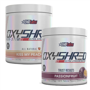 EHP LABS OXYSHRED & OXYSHRED KISS MY PEACH COMBO