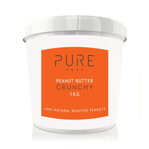 BODYBUILDING WAREHOUSE PURE PEANUT BUTTER CRUNCHY