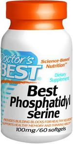DOCTORS BEST PHOSPHATIDYL SERINE 100MG