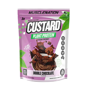 MUSCLE NATION CUSTARD PLANT PROTEIN