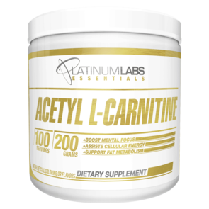 PLATINIUM LABS ESSENTIALS ACETYL L-CARNITINE