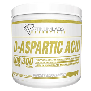 PLATINIUM LABS ESSENTIALS D-ASPARTIC ACID