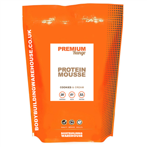 BODYBUILDING WAREHOUSE PREMIUM PROTEIN MOUSSE