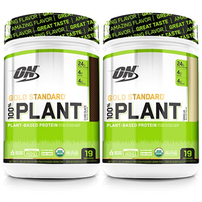 OPTIMUM NUTRITION PLANT PROTEIN DOUBLE COMBO
