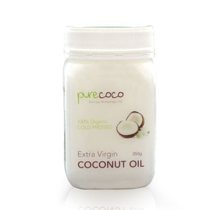 PURECOCO EXTRA VIRGIN COCONUT OIL 350G JAR