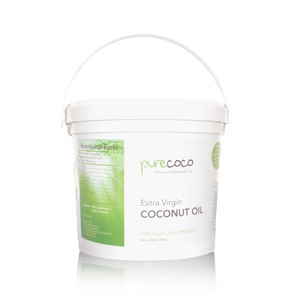 PURECOCO EXTRA VIRGIN COCONUT OIL 18.8KG COMMERCIAL BUCKET