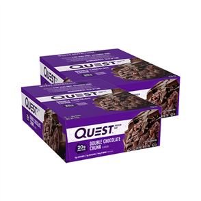 QUEST NUTRITION DOUBLE CHOC CHUNK DOUBLE COMBO
