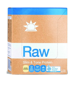 AMAZONIA RAW SLIM AND TONE 7 SERVE SACHETS