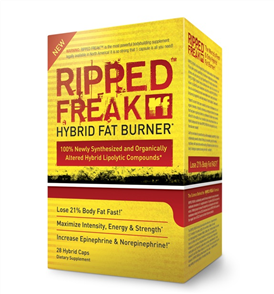 PHARMAFREAK RIPPED FREAK HYBRID FAT BURNER