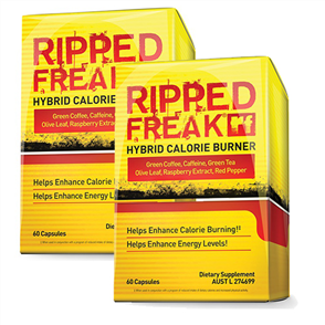 PHARMAFREAK DOUBLE RIPPED FREAK FAT BURNER COMBO